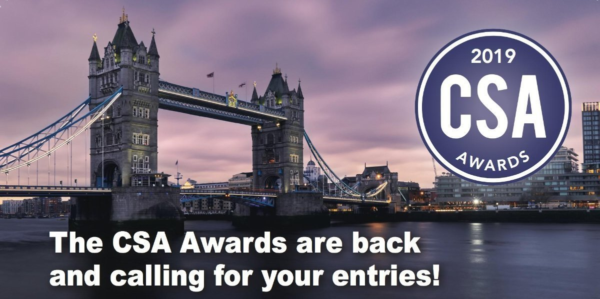 The CSA Awards are back and calling for your entries.